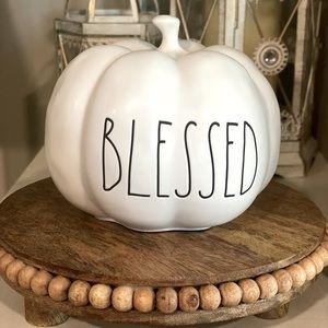 """Rae Dunn """"Blessed"""" Pumpkin"""